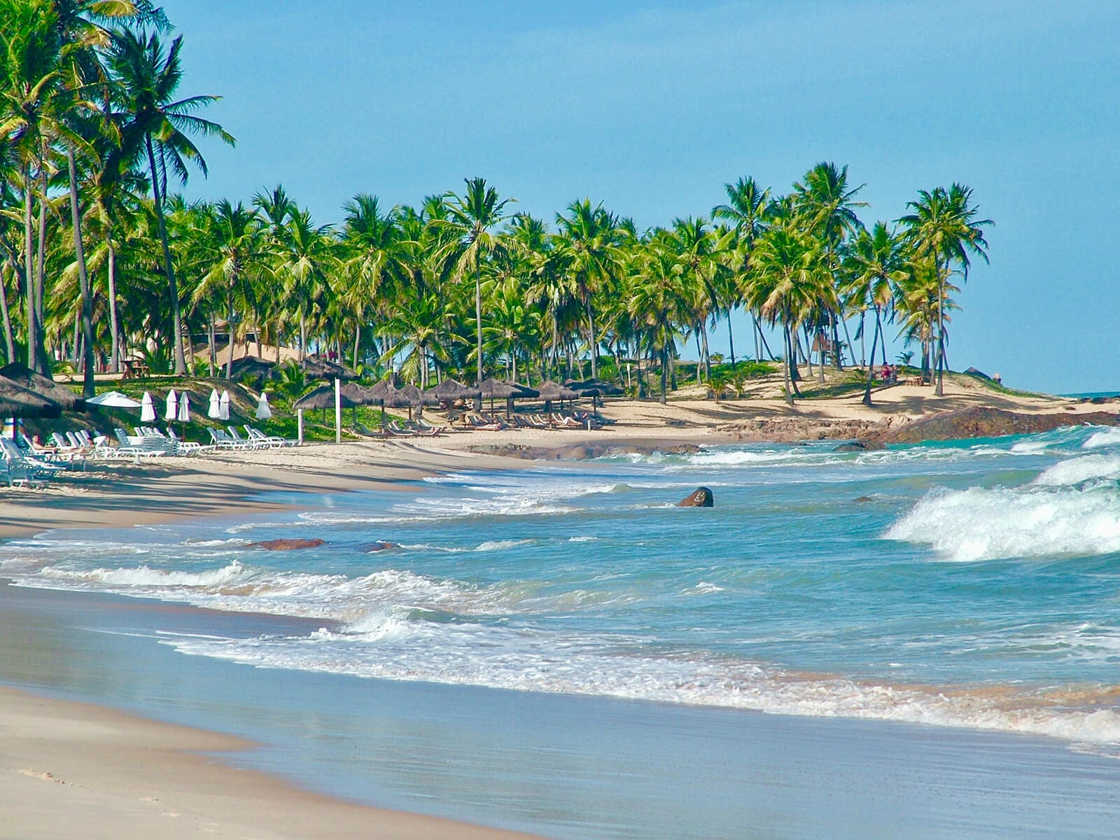 Beach in Bahia