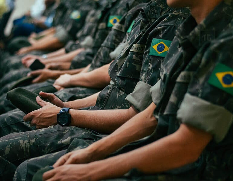 Brazilian military people
